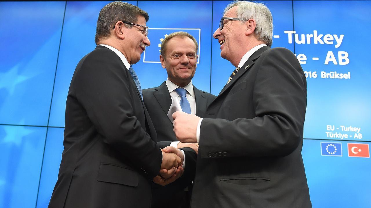 Europa en Turkije bereiken principeakkoord over migratie