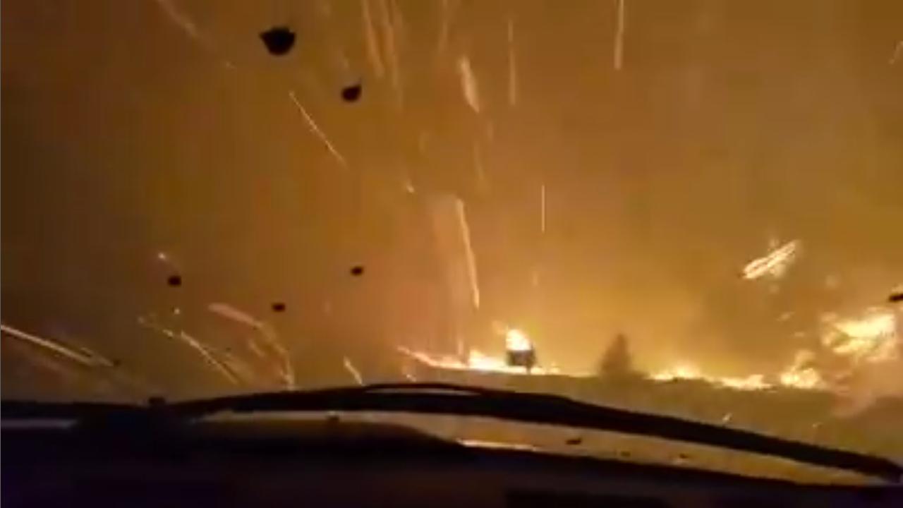 Meer dan tienduizend mensen op de vlucht voor natuurbrand VS