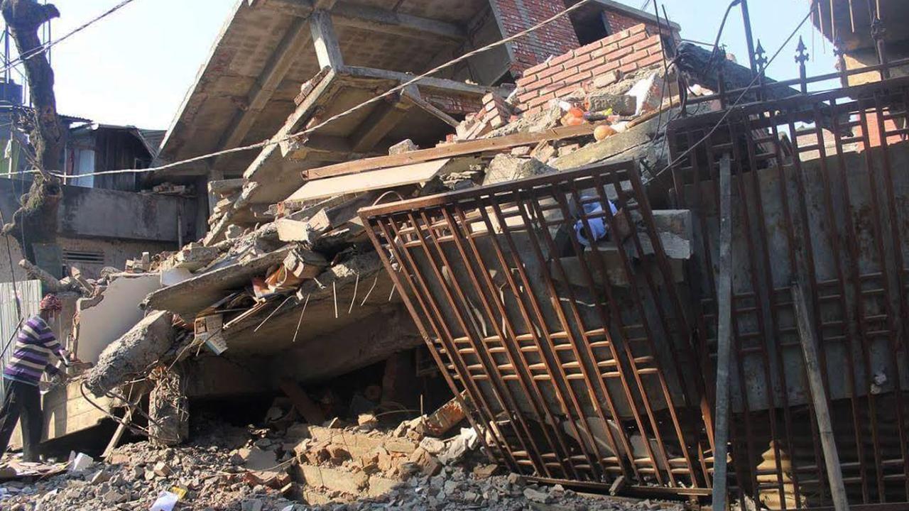 Doden en gewonden bij zware aardbeving India