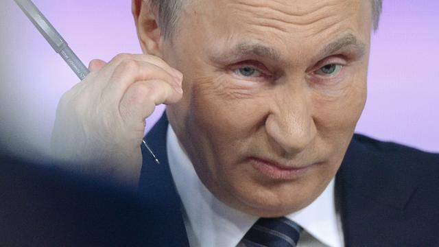 Topfunctionarissen krijgen boek met redes Poetin als nieuwjaarsgeschenk