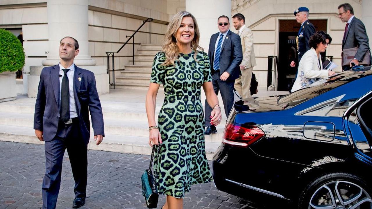 Koningin Maxima zorgt voor opwinding in Argentinië