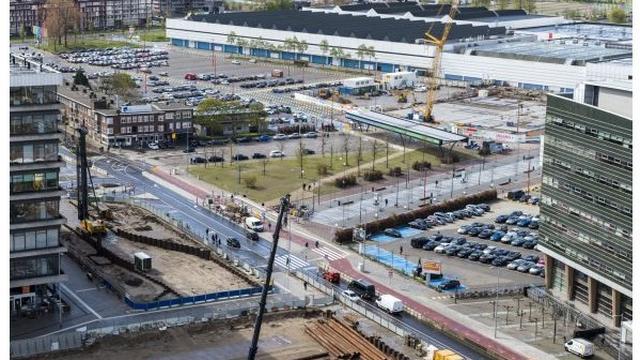 'Parkje' bij Jaarbeurs blijft minimaal tot 2018 liggen