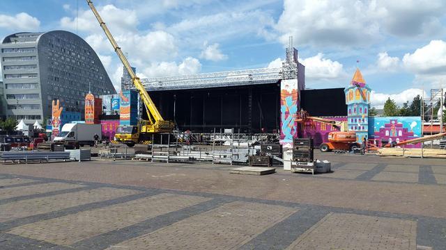 Nieuw podium, meer barren en meer toiletten voor Breda Live