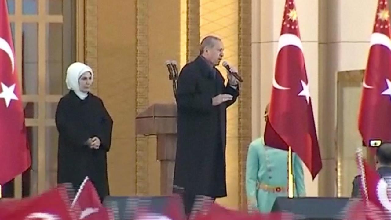Erdogan erkent rapporten OVSE over Turks referendum niet