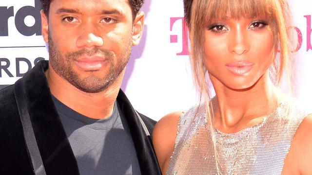 'Ciara trouwt deze week in Londen met Russell Wilson'