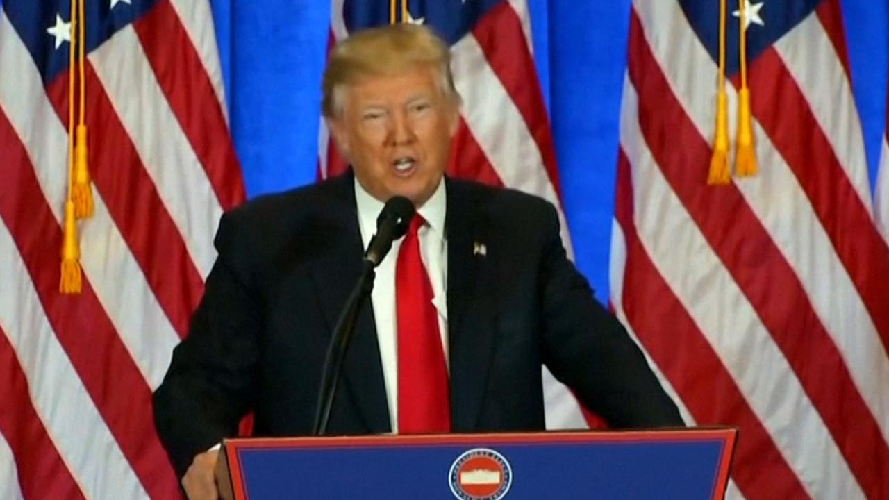 Trump geeft eerste speech na verkiezingen