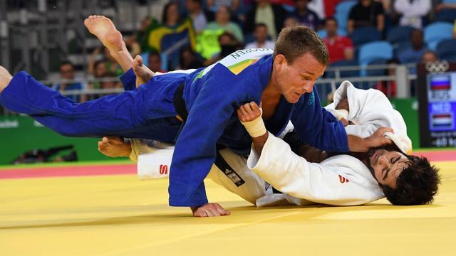 Judoka Mooren uitgeschakeld na nederlaag in eerste ronde