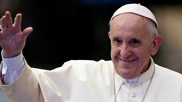 Paus Franciscus: 'De wereld is in oorlog'