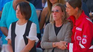 Italianen herdenken slachtoffers jaar na instorten 'rampbrug'