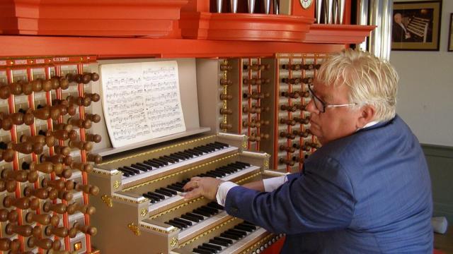 Henk Strootman viert jubileum als organist