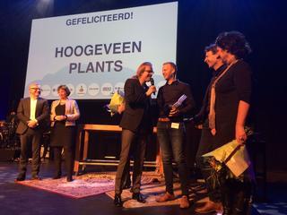 Het Boskoopse bedrijf kreeg de meeste stemmen van de jury en aanwezigen