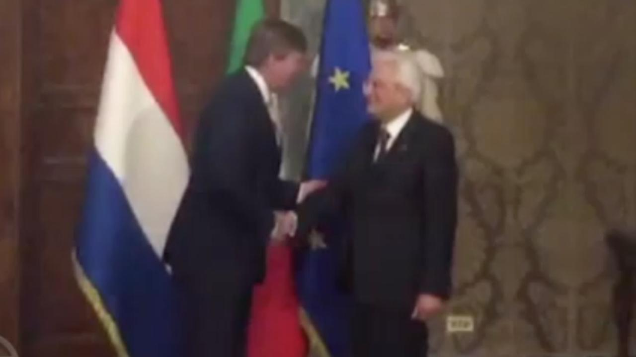 Koningspaar begint aan staatsbezoek in Italië