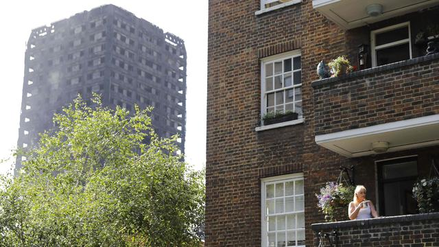 'Onderzoek naar brand woontoren Londen duurt maanden'