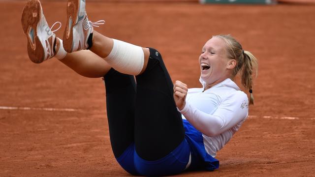 Bertens begint als zevende Nederlander ooit aan halve finale Grand Slam