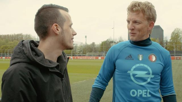 Dromen van de Coolsingel #4: Sfeer peilen op Feyenoord-training