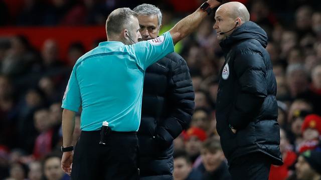 Mourinho dreigt voor tweede keer in een maand geschorst te worden