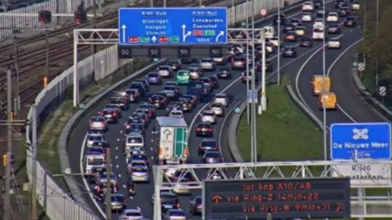 Lange files in Nederland onder meer op A4
