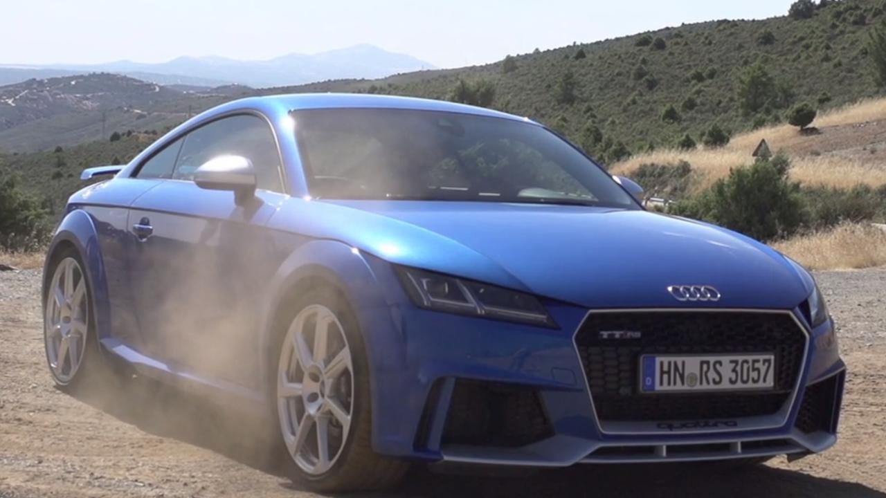 Video: rij-impressie Audi TT RS