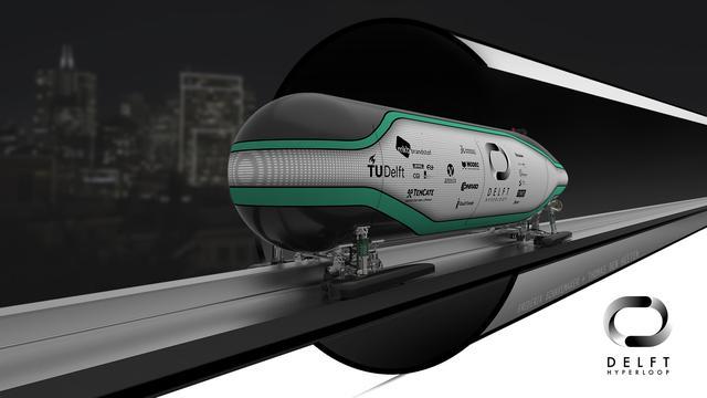 Nederlandse Hyperloop-trein haalt tweede plaats in SpaceX-wedstrijd