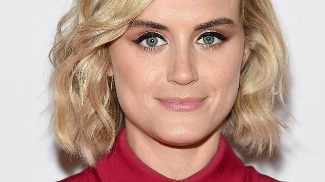 Orange is the New Black-actrice Taylor Schilling wordt niet snel verliefd