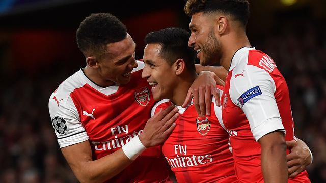 Samenvatting Arsenal-Ludogorets (6-0)