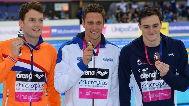 Verschuren pakt zilver en olympisch ticket op 100 vrij bij EK