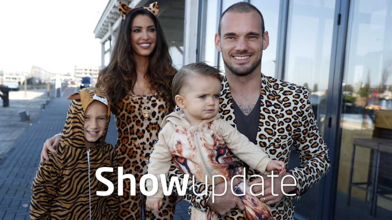 Show Update: Wesley Sneijder is overbezorgde vader