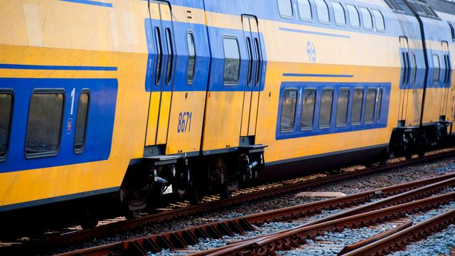 Reizigers geëvacueerd uit defecte trein bij Leiden Centraal