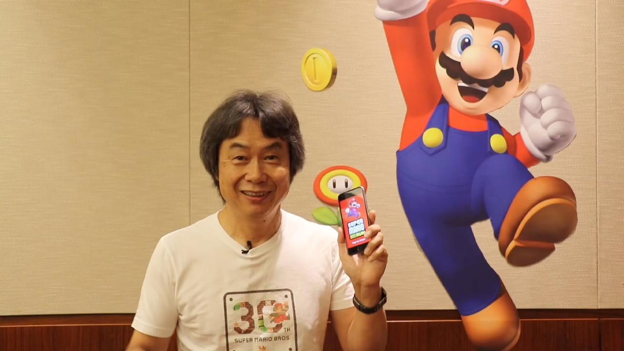 Super Mario Run: bedenker Miyamoto legt uit