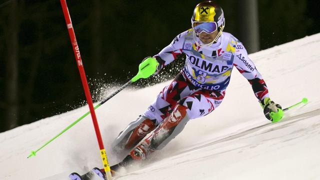 Skiër Hirscher ontsnapt ternauwernood aan neerstortende drone