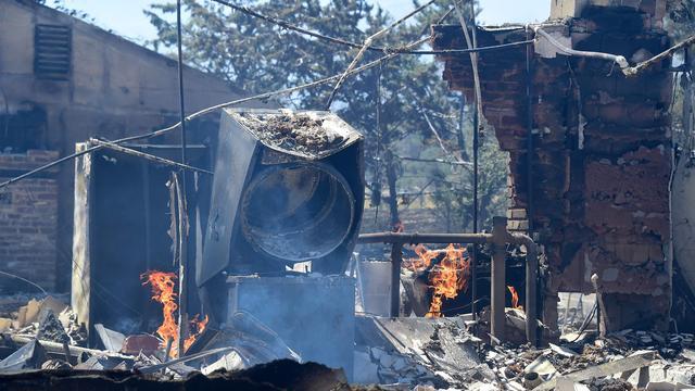 Zeker twee doden door bosbrand in Californië