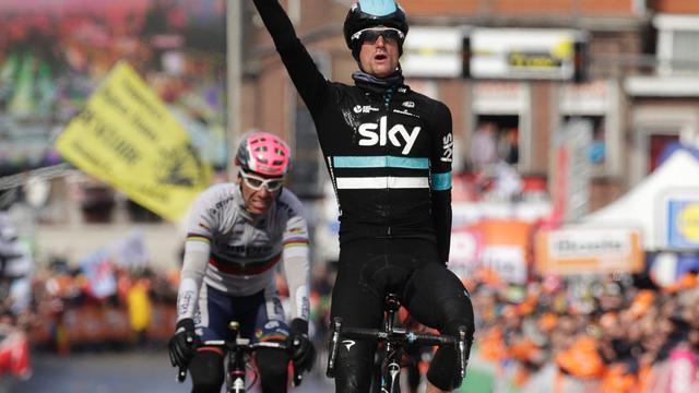 Team Sky wijst Poels aan als kopman in Ronde van Lombardije