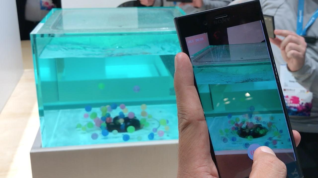 Deze Sony-smartphone filmt super langzame slow-motion