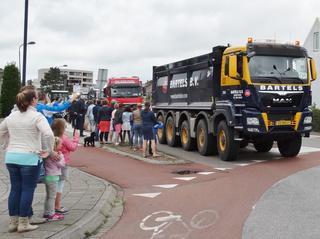 Truckersrit van dagactiviteitencentrum De Schutse op 3 juni