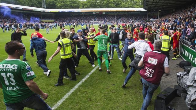 Arrestanten na wedstrijd Graafschap - Go Ahead Eagles weer vrij