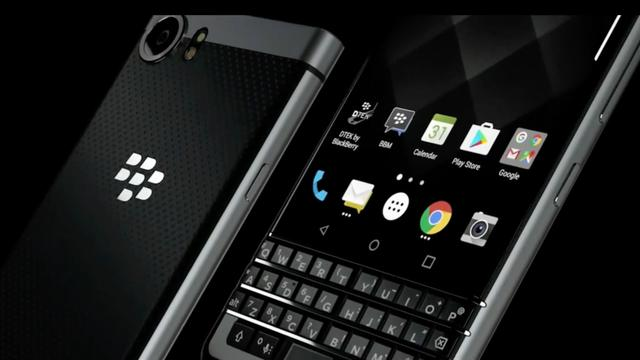 BlackBerry KeyOne is een Android-smartphone met fysiek toetsenbord