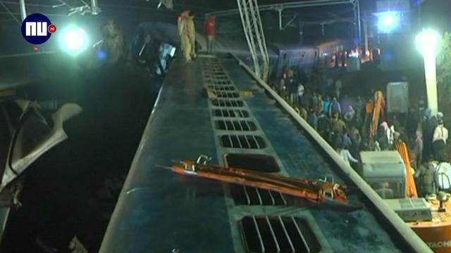 Doden bij ontsporen zeven treinwagons in India