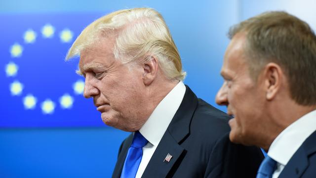 Tusk zegt andere standpunten over Rusland te hebben dan Trump