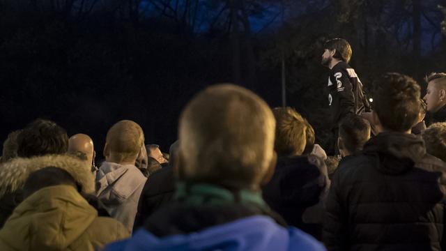 Peter Hyballa spreekt fans toe na nederlaag tegen Excelsior