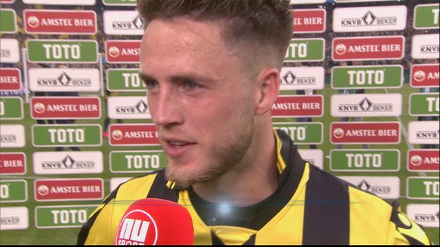Van Wolfswinkel: 'Heel blij dat ik Vitesse aan eerste prijs kan helpen'