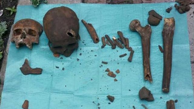 Botten in tuin Zeemanlaan komen van begraafplaats