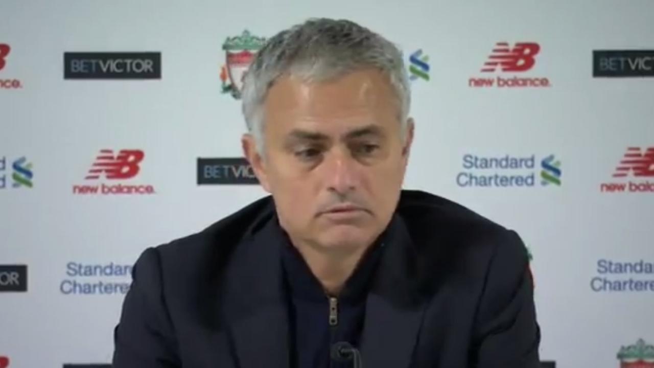 Mourinho: 'Als je niet scoort, win je niet'