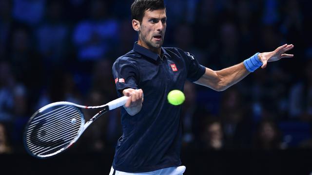 ... groepswedstrijd op ATP World Tour Finals