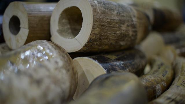 Sieraden van ivoor in beslag genomen