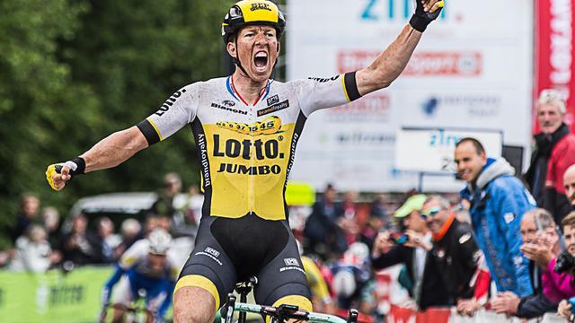 Vanmarcke bezorgt Lotto-Jumbo derde ritzege en pakt leiding in Ster ZLM Toer