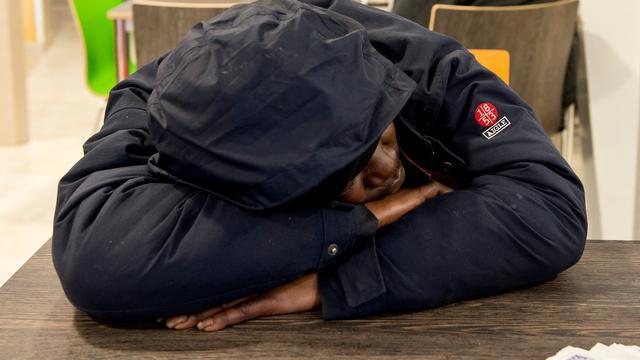 Steeds meer daklozen in Nederland