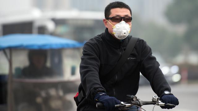 Opnieuw hoogste alarmfase voor smog in Peking