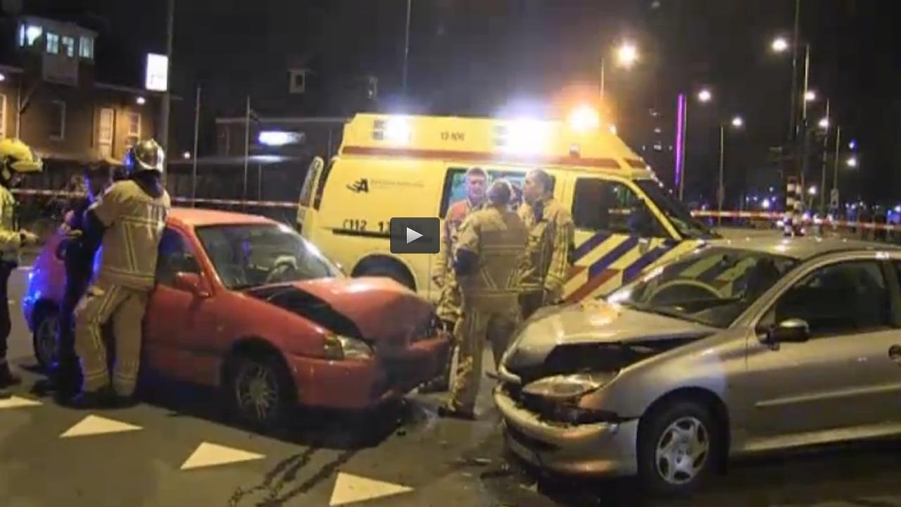 Gewonden na ongeval in Amsterdam-Oost