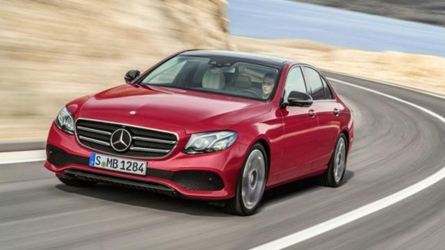 Foto's nieuwe Mercedes E-klasse gelekt