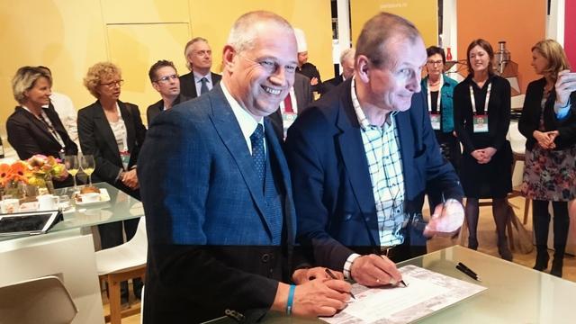 Gemeente en Jaarbeurs ondertekenen 29 jaar na eerste plannen overeenkomst